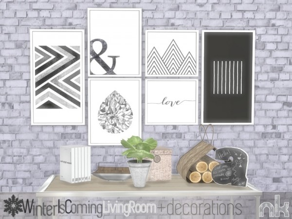 The Sims Resource: Wic Decoration Stuff by nikadema
