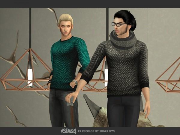 The Sims Resource: Hauberk sweaters by sugar owl