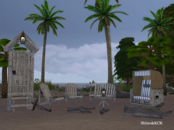 The Sims Resource: Beach house by ShinoKCR