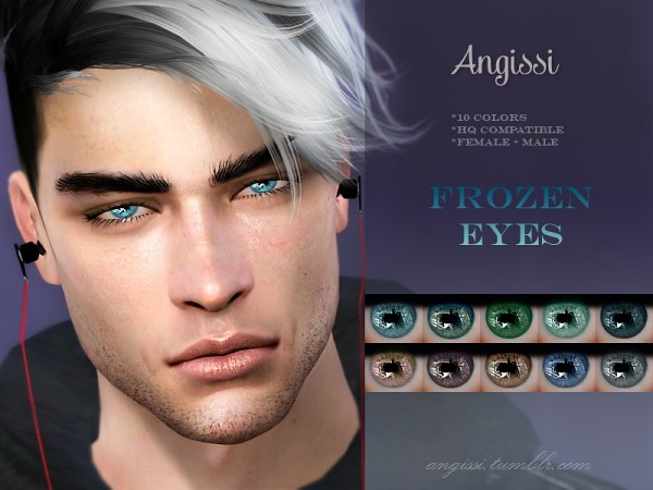 The Sims Resource: Frozen Eyes by ANGISSI