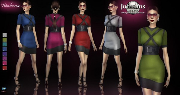 Jom Sims Creations: Wooleena dress