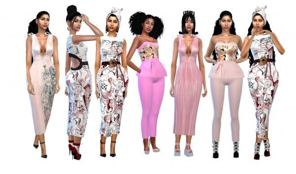 Dreaming 4 Sims: Spring Pink