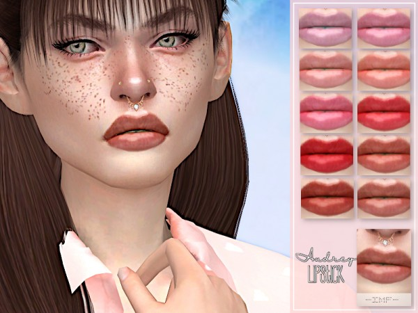 The Sims Resource: Audrey Lipstick N.102 by IzzieMcFire