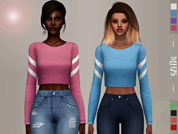 The Sims Resource: Sharee Top by Margeh 75