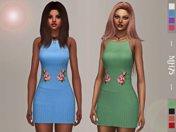 The Sims Resource: Shelby Dress by Margeh 75