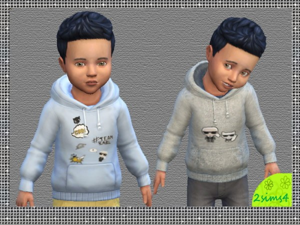 Mod The Sims: Hoddies collection for toddler by lurani