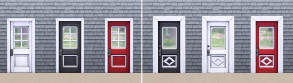 Simplistic: No More Dingy Doors   Exterior Edition
