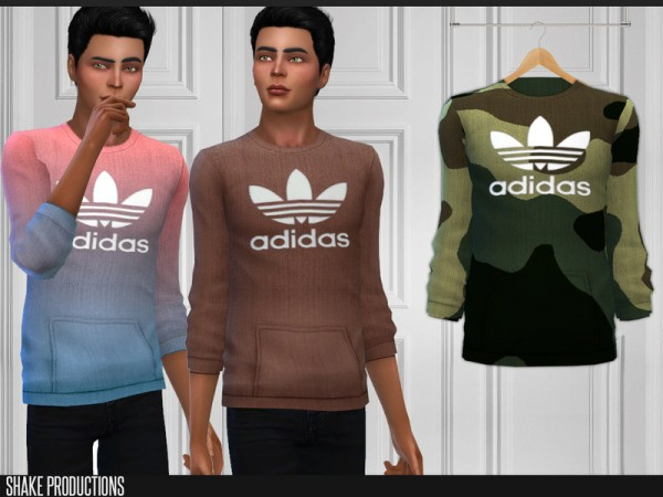 The Sims Resource: Sweatshirt 172 by ShakeProductions