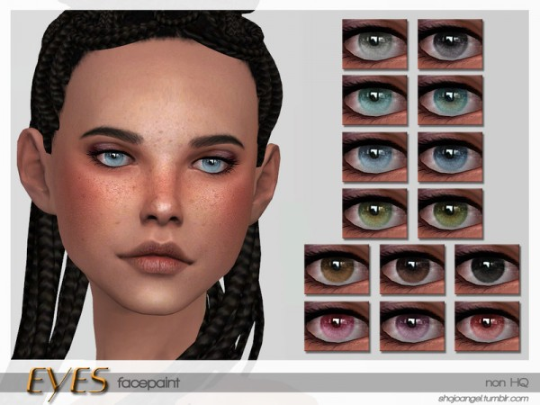 The Sims Resource: Eye Set 9 by ShojoAngel