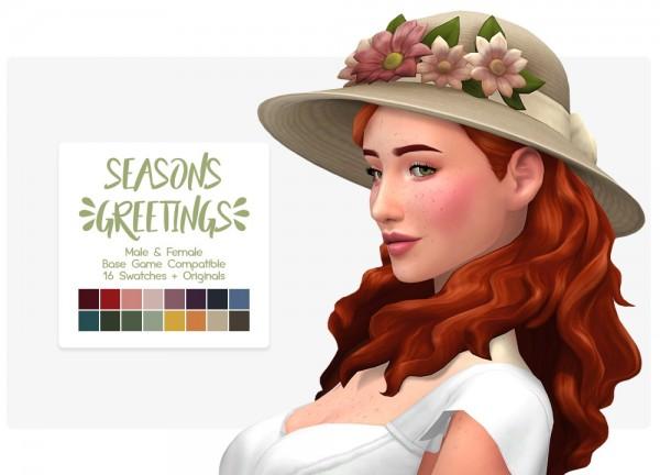 Nolan Sims: Flowers hat