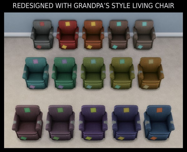 Mod The Sims: Redesigned with Grandpas Style by Simmiller