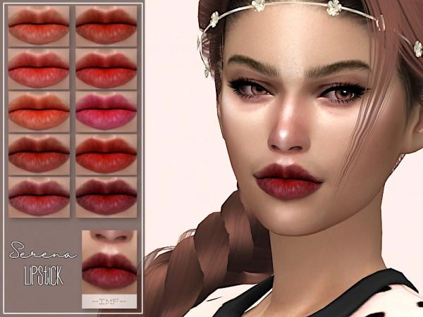 The Sims Resource: Serena Lipstick N.107 by IzzieMcFire