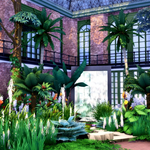 Simsational designs: Romantic Garden Expanded   16 New Doors and Windows