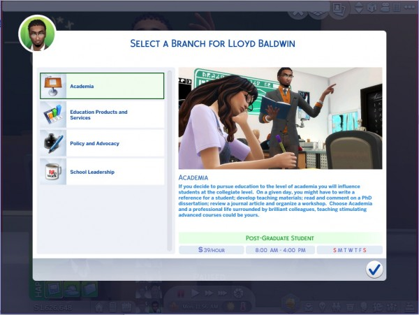 Mod The Sims Ultimate Educator Career By Asiashamecca