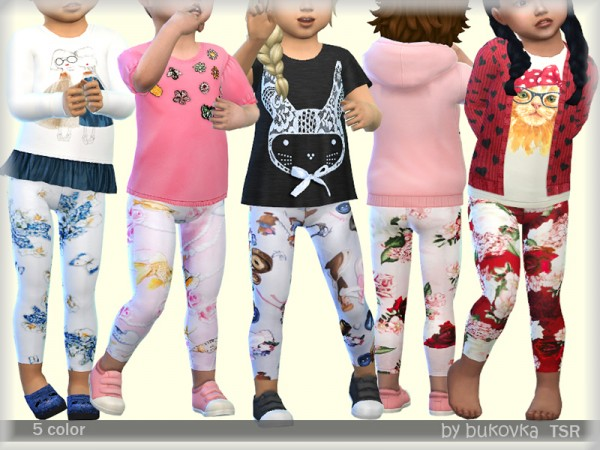 The Sims Resource: Leggings by bukovka