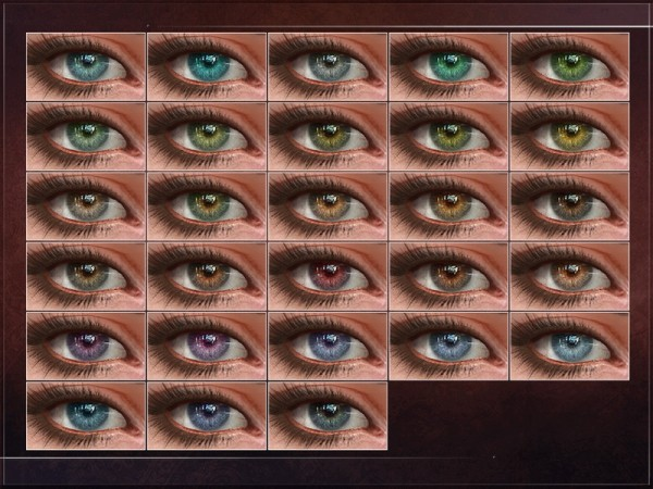 The Sims Resource: Melatonin Eyes by RemusSirion
