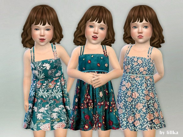 The Sims Resource: Toddler Dresses Collection P72 by lillka