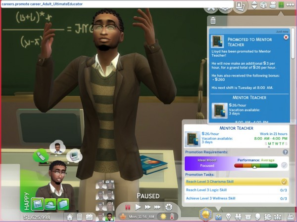 Mod The Sims: Ultimate Educator Career by asiashamecca