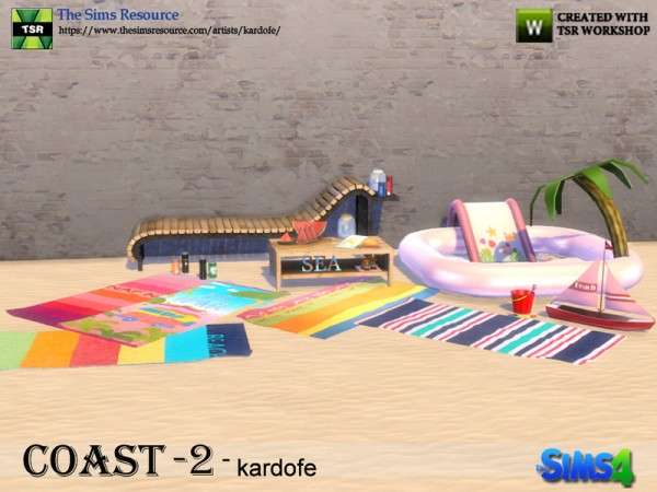 The Sims Resource: Coast 2 by Kardofe