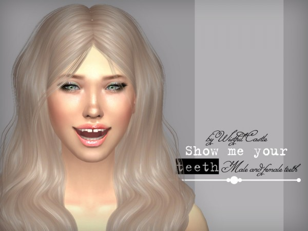 The Sims Resource: SMYT   teeth set by WistfulCastle