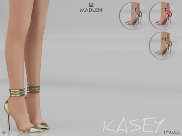 The Sims Resource: Madlen Kasey Shoes by MJ95