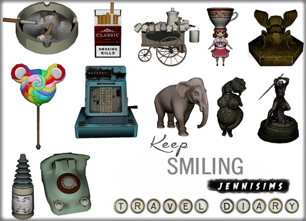 Jenni Sims: Various Clutter