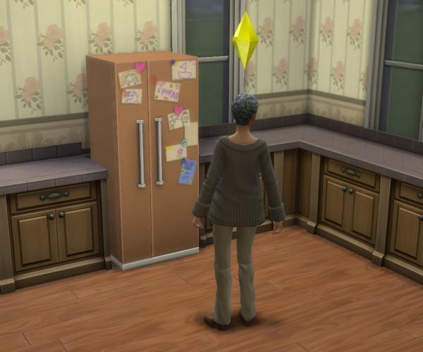 Mod The Sims: Grandmas Fridge by BadeLavellan