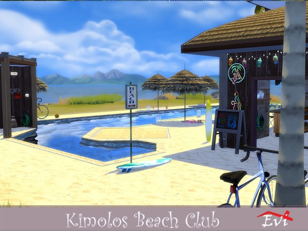 The Sims Resource: Kimolos Beach Club by evi