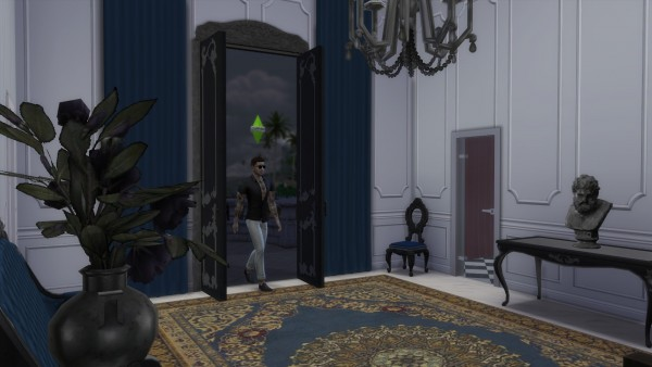 Mod The Sims: Dark Lux Double Door by TheJim07