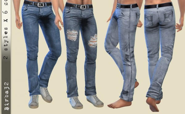 The Sims Resource: Jeans 181 by Birba32