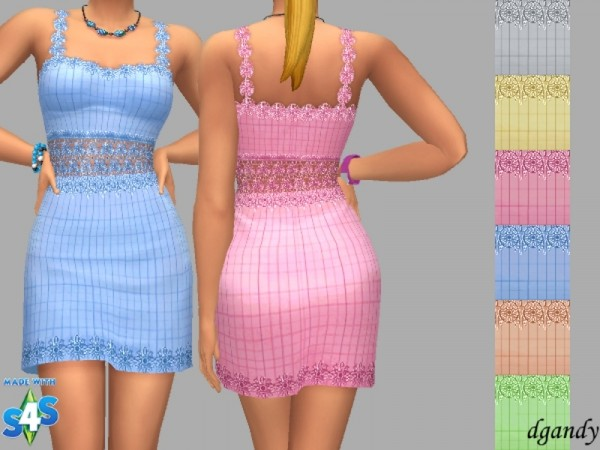 The Sims Resource: Summer Time Dress 2 by dgandy