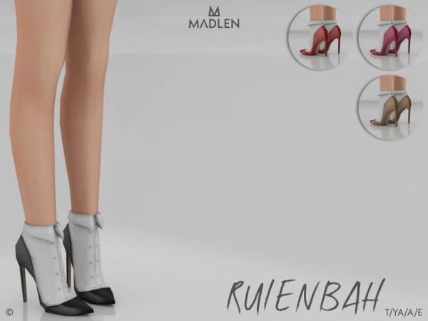The Sims Resource: Madlen Rulenbah Shoes by MJ95