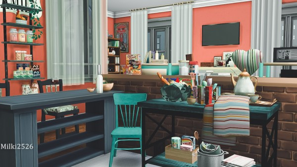 Milki2526: Apartment of a young girl