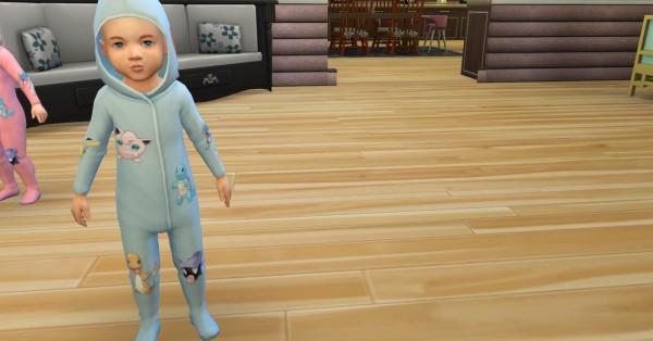 Mod The Sims: Pokemon pajamas by NicoletteAunreel