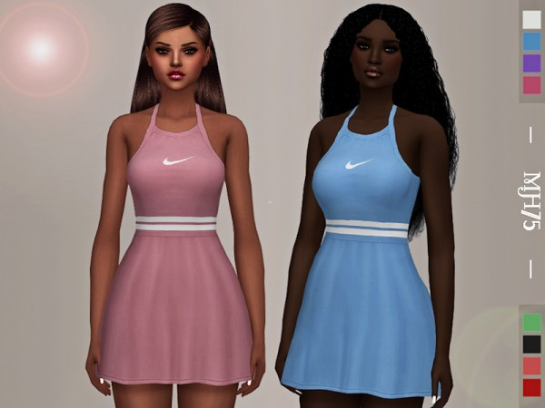 The Sims Resource: Madison Tennis Dress by Margeh 75