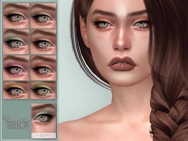The Sims Resource: Vanessa Eyeshadow N48 by IzzieMcFire