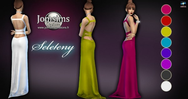 Jom Sims Creations: Seleteny Evening Dress