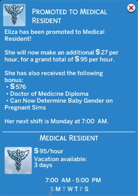 Mod The Sims: Doctor Career Job Titles Replacement by d unit