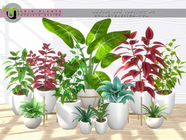 The Sims Resource: Erin Plants II by NynaeveDesign