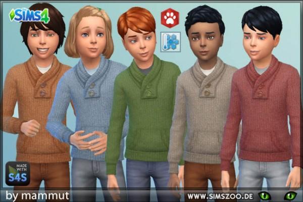 Blackys Sims 4 Zoo: Jumper Autumn 1 by mammut