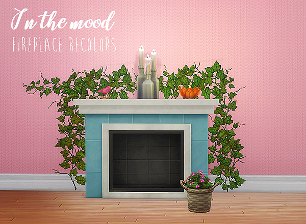 LinaCherie: In the mood fireplace