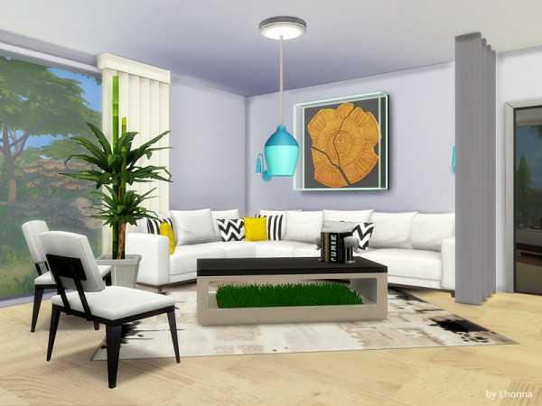 The Sims Resource: The Air house by Lhonna