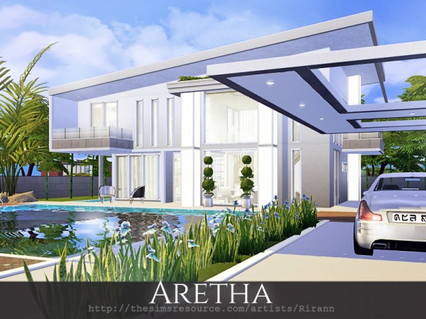 The Sims Resource: Aretha house by Rirann