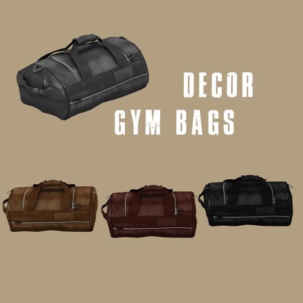 Leo 4 Sims: Gym Bags