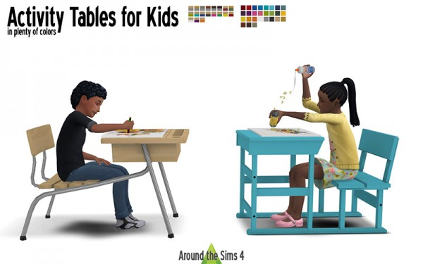 Around The Sims 4: Activity Tables