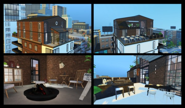 Simming With Mary: Fountain View Penthouse