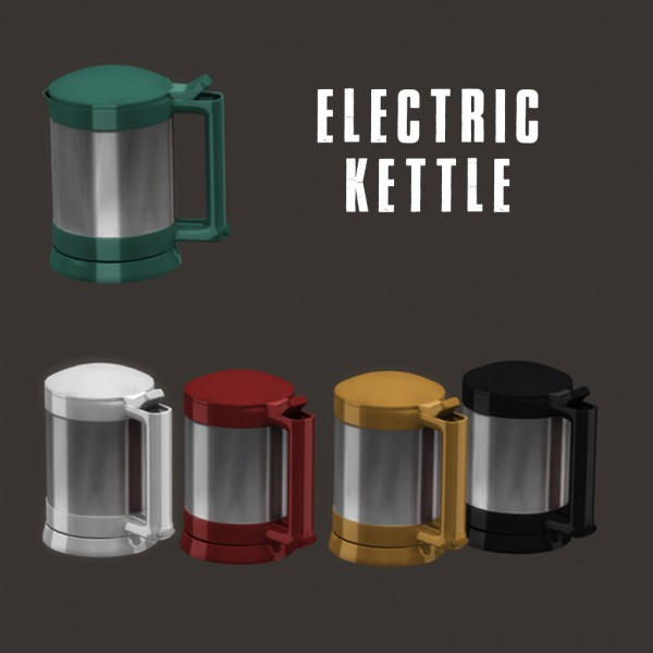 Leo 4 Sims: Electric Kettle