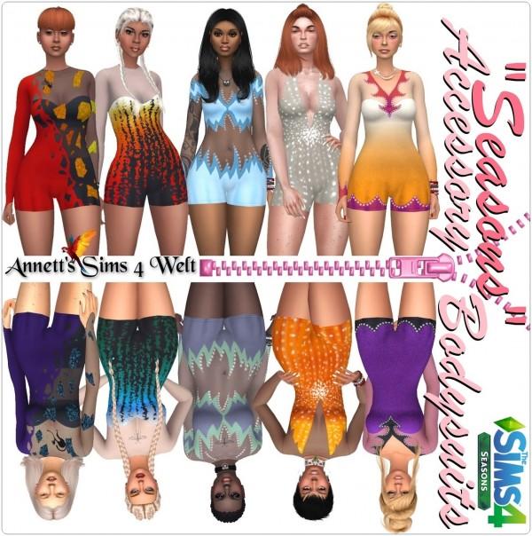 Annett`s Sims 4 Welt: Accessory Bodysuits Seasons