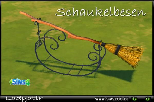 Blackys Sims 4 Zoo: Swing broom by adyatir