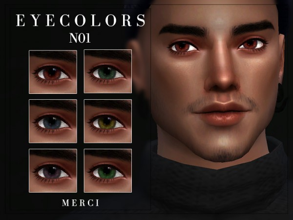 The Sims Resource: Eyecolors N01 by merci